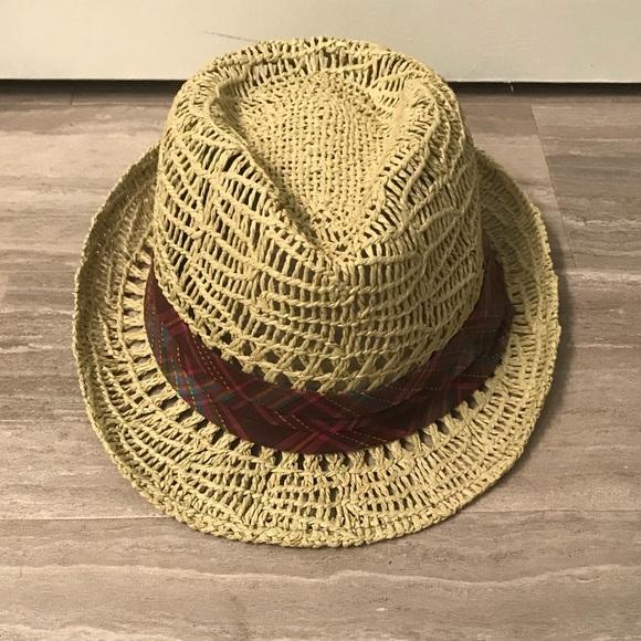 d55011c8bd1 Roxy Straw Fedora Hat